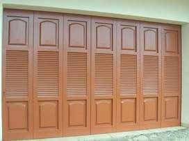Pintu Garasi Besi WINA Pemasangan Wilayah Buduran