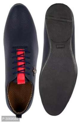 Elegant blue shoes