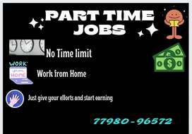 home based part tym job in data editing and formatting work from home