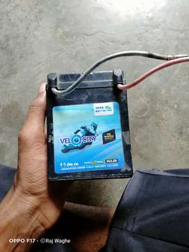 New battery and warranty card is available