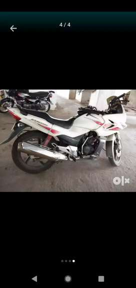 Hero Honda karizma white colour for immediate sale