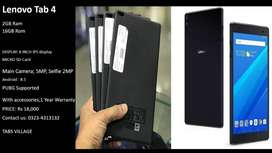 Lenovo Tab4 2GB/16GB 8Inch size Wifi Only With Box and 1 year warranty