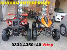 Jumbo Size Auto & Manual Atv Quad Bikes Deliver In All Pakistan