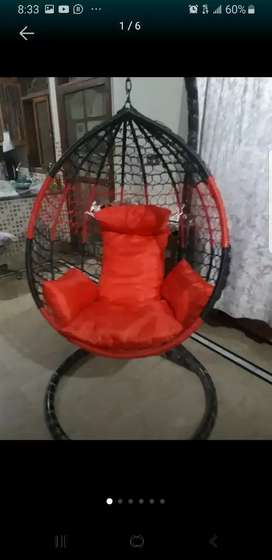 Slightly used Swing for sale with stand