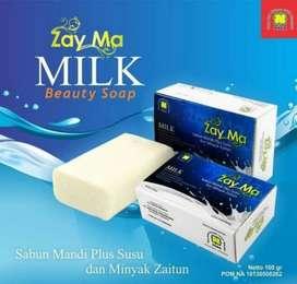 Zayma Milk Beauty Soap (Sabun Mandi Plus Susu dan Minyak Zaitun)