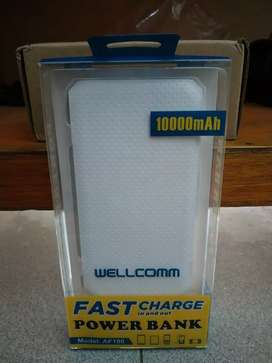 Powerbank Wellcomm 10000mAh fast charger