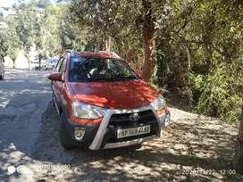 Toyota Etios Cross 2016 Petrol 40000 Km Driven