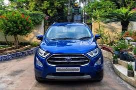Ford EcoSport Titanium Plus facelift new model
