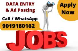 Work from home part time jobs for freshers and experienced.