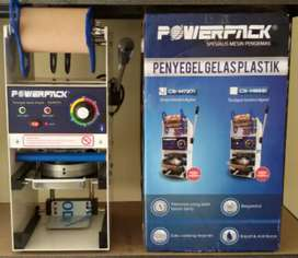 Mesin penyegel gelas cup sealer manual powerpack