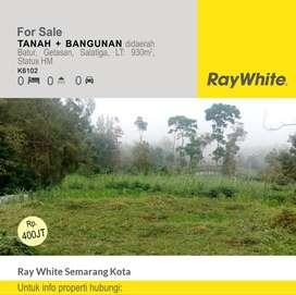 Dijual Tanah + Bangunan di daerah Batur, GEtasan, Salatiga - K6102