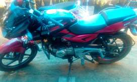 Bajaj palsar 180  weight  147 model 2015 bike  delivery 26/02/2016