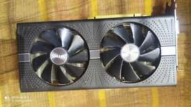 Rx 580 8gb sapphire 6months old bill Box available
