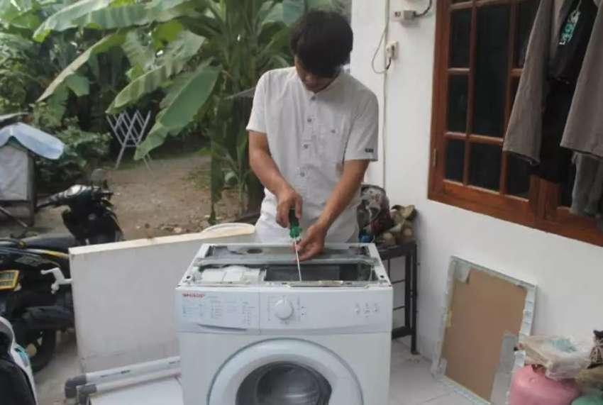 Pemasangan/perbaikan AC, kulkas, mesin cuci, water heater, pompa air 0