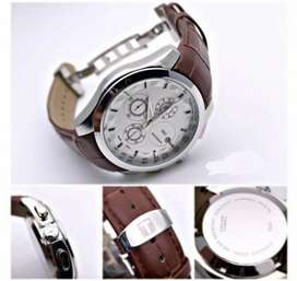 Branded leather watch CASH ON DELIVERY functional price negotiable hry