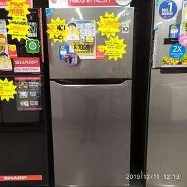 Kulkas LG GNB422 bisa di cicil tanpa kartu kredit