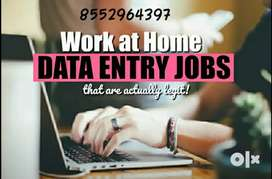 Weekly income in data entry work
