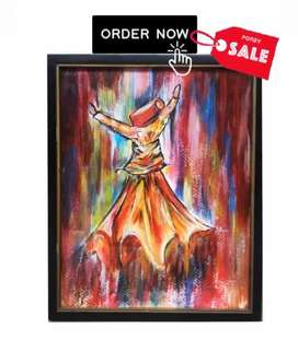 SUFI HAND MADE PAINTING
