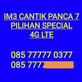 Nomor im3 cantik panca 7 nomor cantik Indosat