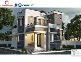 1000SqFt villas near ottapalam