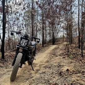 Yamaha Byson Custom Scrambler Punisher