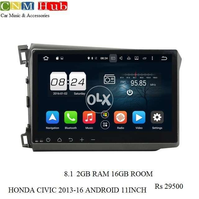 Honda Civic Rebirth 2013/16 Android Navigation Panel 0