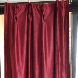 18 full Curtains with blackout lining,plates,tieback,Sec 35G,Kharghar