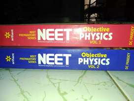 Arihant series physics for NEET vol 1&2by DC Pandey.