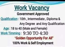 Vacancy are open