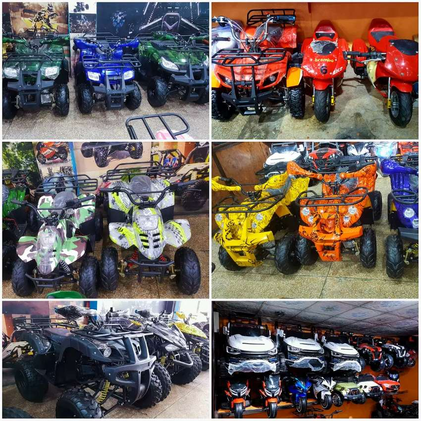 Branded Dubai imported Quad ATV BIKE for sell delivery all pak 0
