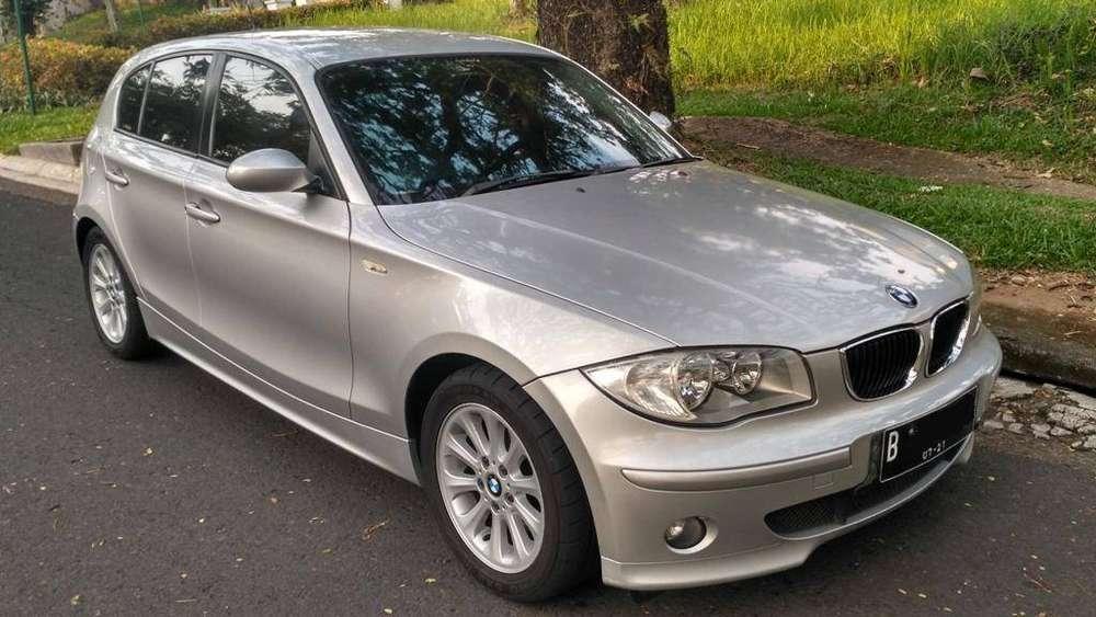 2006 BMW 120i Silver 138rb km  Bogor Kota #1