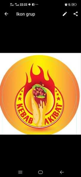 Jaga Kebab atau pelayan kebab