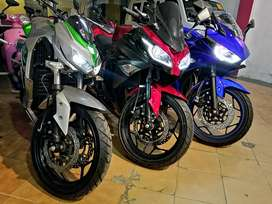 Brand new Yamaha R3 250cc style heavy bike look with original color