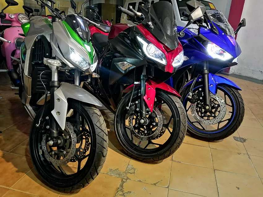 Brand new Yamaha R3 250cc style heavy bike look with original color 0