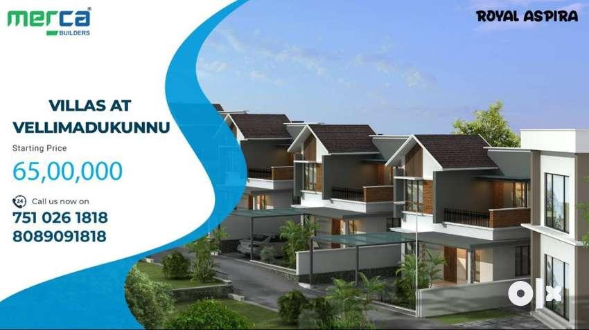 Modern Villas@Vellimadukunnu