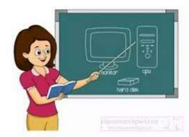 Tution teacher Computer and English