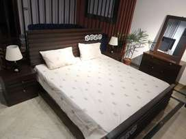 Brand new bed set complete bedroom furniture with dressing and two