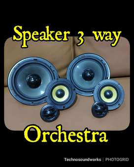 Speaker 3 way Orchestra mk1 Paket Sound Audio / Tv mobil double din