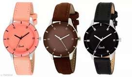 Girls watch combo set 3 piece delivery free