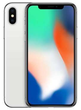 Iphone X silver 64gb 5 month old