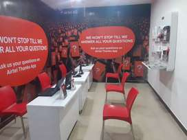 Airtel store And new Mobile care Branch