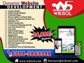 Mobile Responsive Website Design & Development and SEO Services