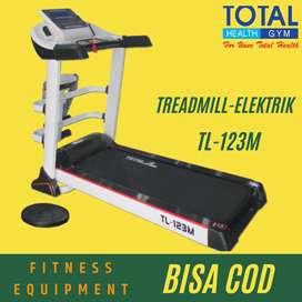 Alat fitness lari rumahan treadmill elektrik murah TL-123M