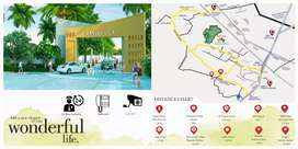 Rera approved residential colony exactly 2km from mahrana Pratap Chowk