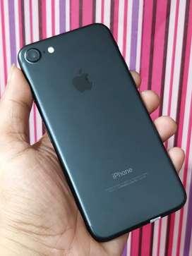 iphone 7 128gb Blackmate Fullset Mulus