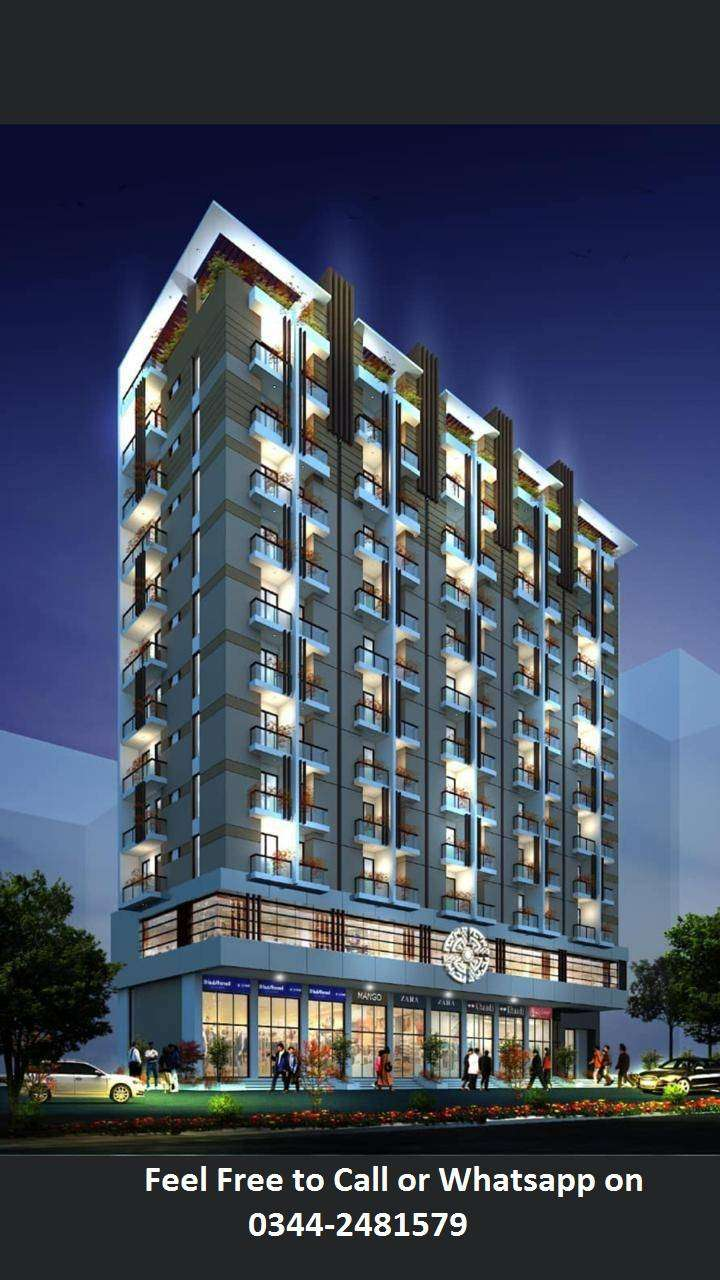 Liberty Commercial Appartments On Installments in Bahria Town Karachi 0