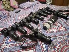 Canon DSLRs on remt in Chandigarh
