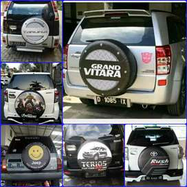 Sarung cover ban Rush Terios Jeep Rubicon Taft GT Feroza Taruna Vitara