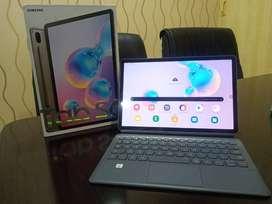 Tablet Samsung Tab S6 4G dan Keyboard Not S7 Ipad Pro huawei