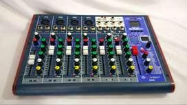 mixer 8ch digital efek